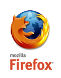 Firefox Logo with vertical wordmark